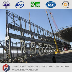 Sinoacme High Rise Prefab Steel Structure Workshop pictures & photos