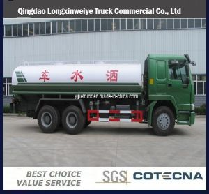 Sinotruk 6X4 HOWO 10-25m3 Water Tanker Truck pictures & photos