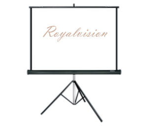 Tripod Projector Screen with Portable Bracket pictures & photos