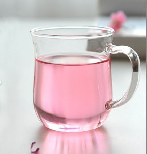 Tea Cup Glass Mug Water Cup (350ml) pictures & photos