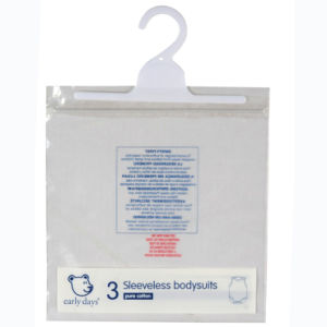 Custom Printed Ziplock Bags with Hanger for Baby Wear (FLH-8702)