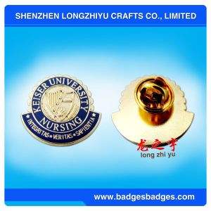 Soft Enamel Badge for University (LZY-PIN 0057) pictures & photos