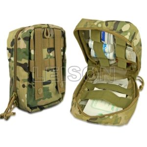 Military Tactical First Aid Pouch with Molle ISO Standard pictures & photos