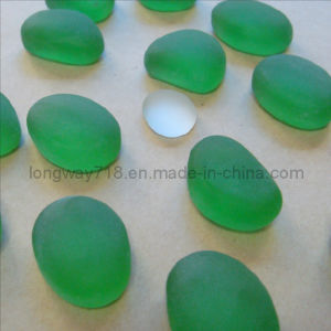 Tumbled Landscaping Glass Pebbles (FCG01GN)
