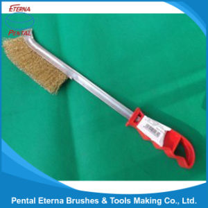 Long Plastic Handle Steel Wire Brush pictures & photos