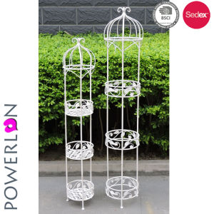 Flower Stand Designs : China new design wrought iron planter flower stand china flower