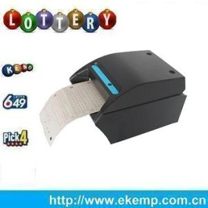 embedded system lottery ticket printing machine support rs232 slot and bluetooth connection