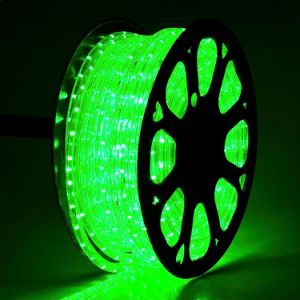 220V Rope Light Christmas Outdoor Round Two Wire LED Rope Tube String Light