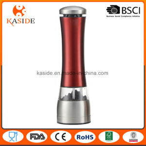 Top Selling Custom Metallic Color Automatic Salt Pepper Mill pictures & photos