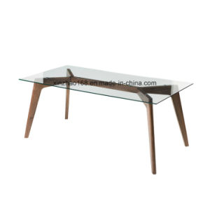 Glass Dining Table Modern Design Simple Dining Room Table