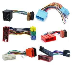 china wire harness manufacturer custom car stereo iso cable harness with  14pin connector for mitsubishi wire harness - china stereo wire harness for