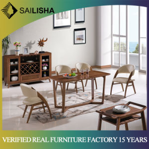 40b007837005 Foshan Factory Wholesale Solid Wood Dining Table and Chair Set Modern  Design New Arrival Home Furniture
