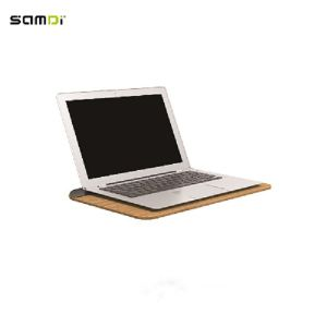 Samdi Wooden Desk Laptop Tray Original Bamboo Stand For Laptop Notebook  MacBook Air MacBook PRO And