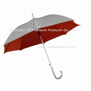 Aluminum Straight Umbrella - Deluxe Style (OCT-YL021) pictures & photos