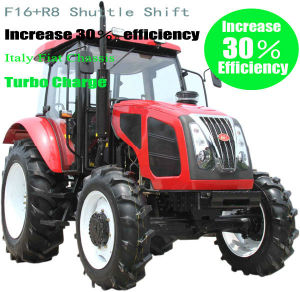 Hot Selling 95HP 2WD Tractor with Yto Engine Competitive Price