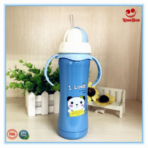Wide Neck Stainless Steel Vacuum Flask Bottle for Baby 180ml/240ml pictures & photos