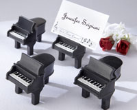 Piano Place Card Holder Wedding Favors (D061)