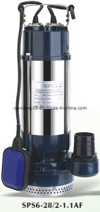 High Head Mulistage Stainless Steel Submersible Pump (SPS6-28/2-1.1) pictures & photos