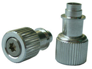 Floating Panel Fastener Assemblies with Straight Knurled Knob