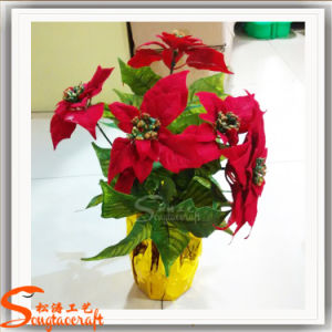 Artificial New Design Artificial Flower for Christmas Decoration