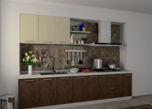 Economic Melamine Kitchen Carbinet pictures & photos
