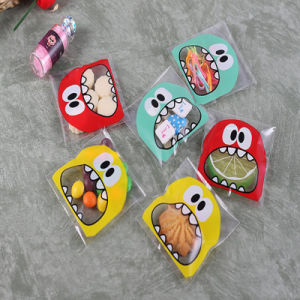 Cute Cartoon Monster Cookie&Candy Bag Self-Adhesive Plastic Bags pictures & photos