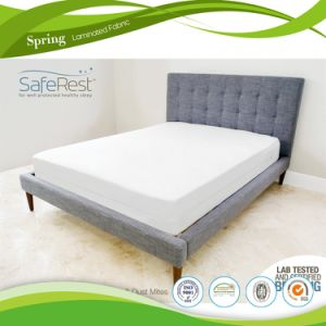 Super Soft Brushed Microfiber Quilted Mattress Protector pictures & photos