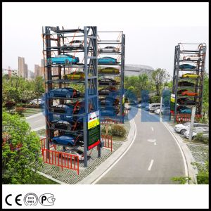 Ce ISO Certified Vertical Rotary Smart Car Parking System pictures & photos