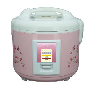 Pink Flower Printing Deluxe Rice Cooker