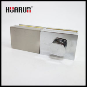 Zinc Alloy Glass Door Lock For Room (HR1614/HR1613) pictures & photos