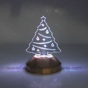 Cute Flameless Romantic Color Changing Magic Electric Halloween Acrylic LED Light for Children pictures & photos