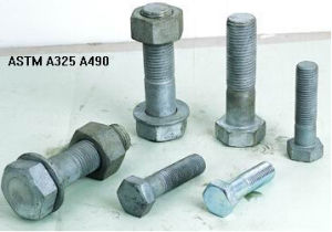 ASTM A325 (A325M) Heavy Hex Head Bolts Thread Bolt All Grade pictures & photos