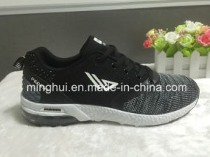 Chinese Manufacture Breathable OEM Fly Knitted Shoes Upper for Sports Shoes
