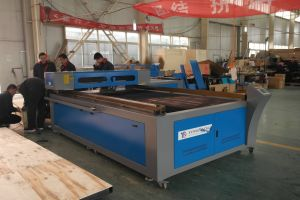 Lasert Metal and Non Metal Cutting Machine with Panasonic Motor pictures & photos