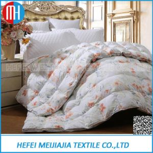 Printing 233tc 100 Cotton White Goose Down Duvets pictures & photos