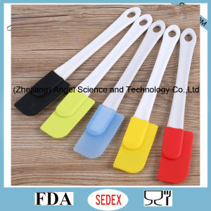 Eco-Friendly Small Size Silicone Baking Tool Spatula Ss19 (S)