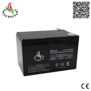 12V 12ah Mf VRLA Rechargeable AGM Lead Acid Battery