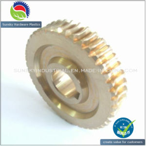 High Precision and High Efficiency Brass Gear 2561 pictures & photos