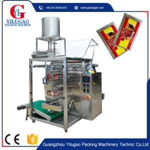 Four Rows Liquid Sauce Paste Packing Machine (DXDY-480Y) pictures & photos