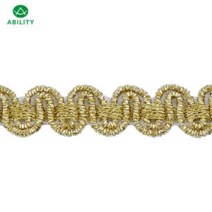 Good Quality Hot Sell Design Gold Trimming