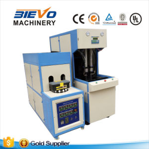 Two Cavity Semi Automatic Pet Bottle Blowing Machine pictures & photos