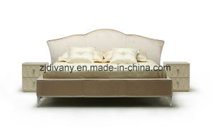 New Classic Style Furniture Bedroom Soft Bed (LS-414) pictures & photos