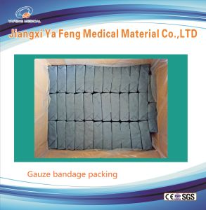 Hot Sale 100% Cotton Surgical Gauze Bandage pictures & photos