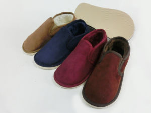 Men Indoor Home Nice Soft Warm Slipper Shoes for Cold Winter pictures & photos