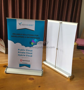 A3/A4 table small roll up mini display banner with printing