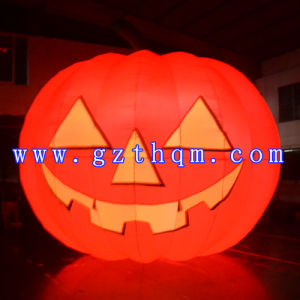 Halloween Decoration Inflatable Balloons/LED Lighting PVC Balloon for Halloween pictures & photos