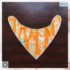 Eco-Friendly Baby Products Orange Infant Bandana Bibs pictures & photos