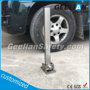 Street Lock, Used PU Stainless Steel Fixed Parking Post, Stainless Steel Fixed Parking Bollard