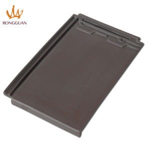 Building Material Dark Grey Tiles Price Ceramic Roof Tile (F1-W57) pictures & photos