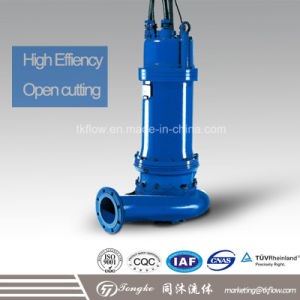 Non-Blocking / Non Clog Sewage Submersible Water Pump pictures & photos